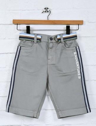 Bad Boys grey cotton casual wear short