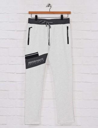 Chopstick grey cotton night wear track pant