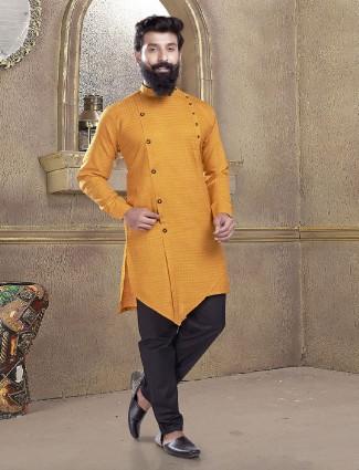 Classic yellow kurta suit