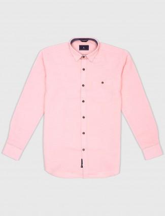 EQIQ light pink hued mens shirt