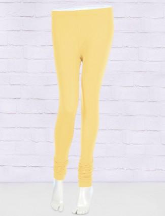 FFU lemon yellow colored leggings