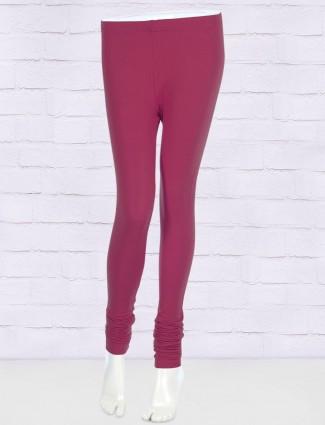 FFU purple regular solid leggings