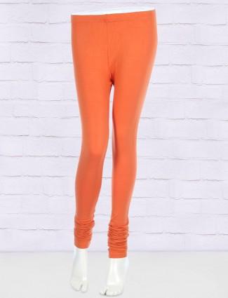 FFU simple orange hue leggings