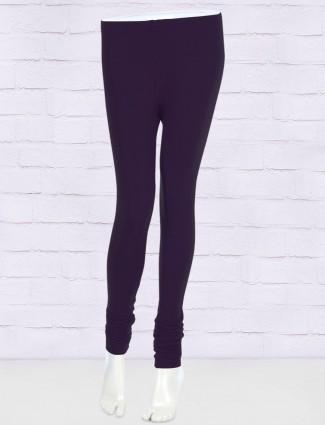 FFU simple purple leggings