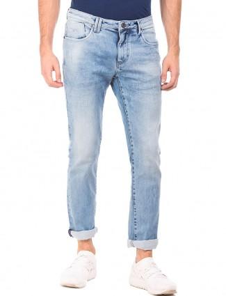 Flying Machine light blue denim skinny fit Jeans
