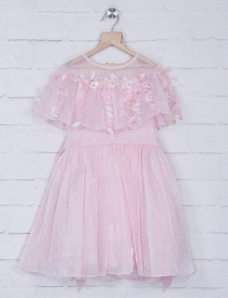 Leo N Babes net pink frock