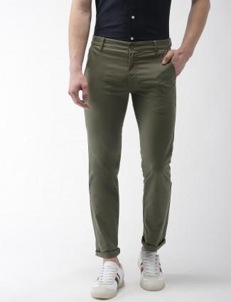 Levis casual wear olive color trouser