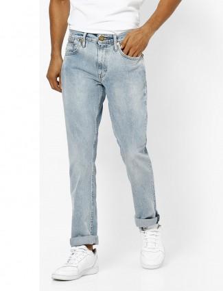 Levis sky blue simple jeans