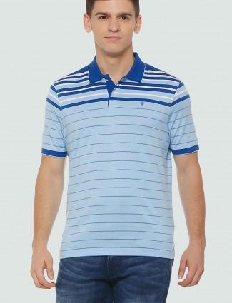 Louis Philippe blue casual t-shirt