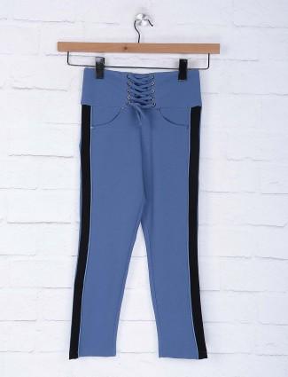 No Doubt blue color cotton jeggings
