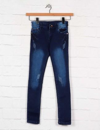 No Fear solid navy denim boys jeans