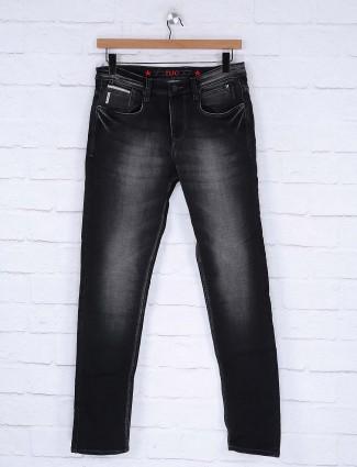 Nostrum denim black hued jeans