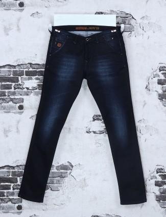 Nostrum navy mild wash jeans