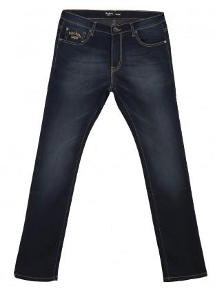 Pepe Jeans denim men plain navy vapour fit jeans