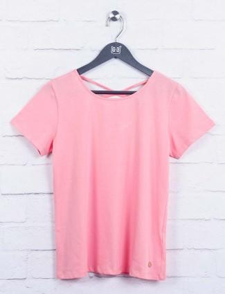 Pink color wonderful top