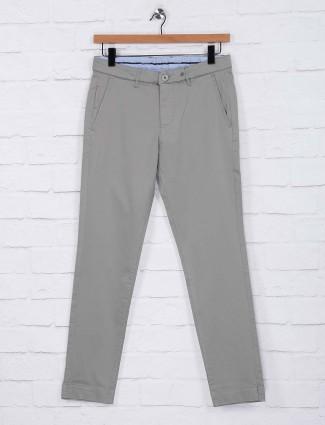 Sixth Element light grey cotton mens trouser