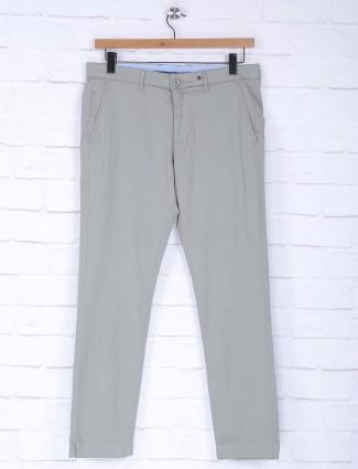 Six Element slim fit grey hue trouser
