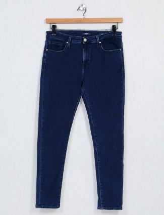 Spykar dark blue denim jeans for women
