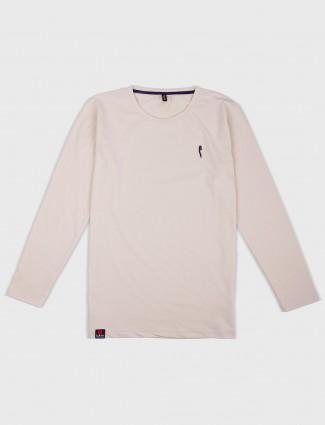 Stride present beige hue t-shirt