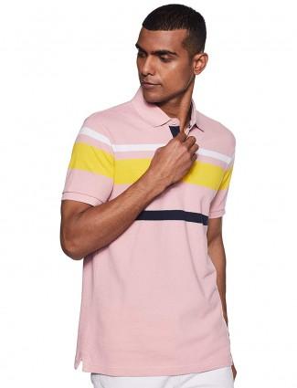 UCB pink stripe t-shirt