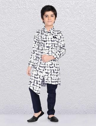 White party funtion kurta suit