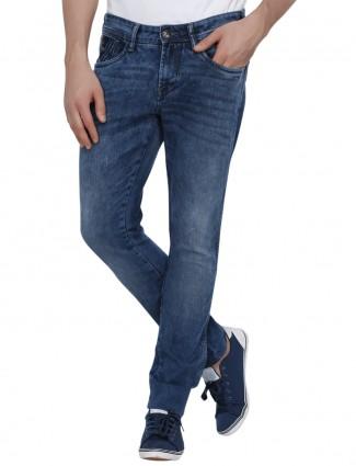 Wrangler blue denim vegas fit casual men jeans