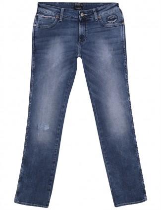 Wrangler skanders fit casual denim plain men Jeans