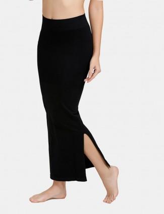 Zivame Black Saree Shape Wear Lycra Petticoat