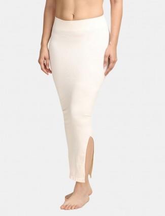 Zivame Saree Shape Wear white Lycra Petticoat