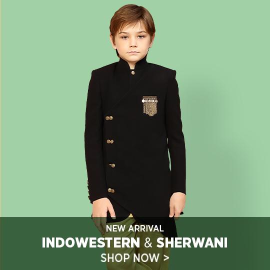 Inowestern-sherwani
