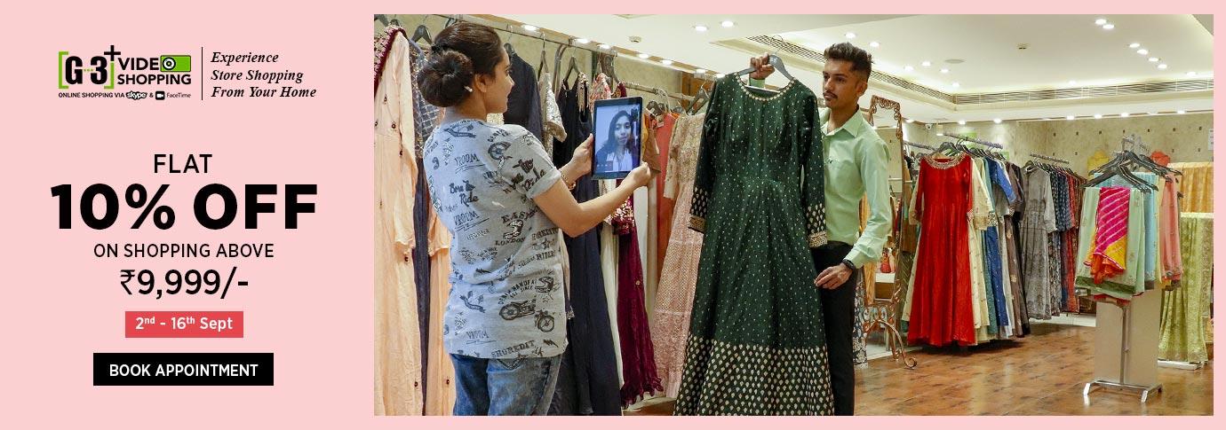 G3+ Surat - Buy Wedding Sarees, Salwar Kameez, Bridal