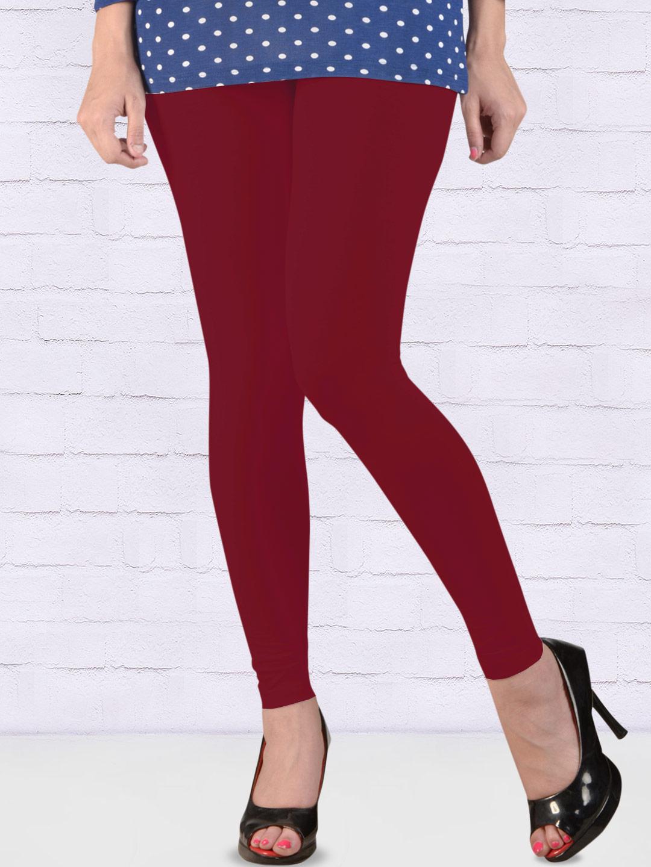 27532fd2eca03a FFU red hue ankal length leggings - G3-WLJ0058 | G3fashion.com