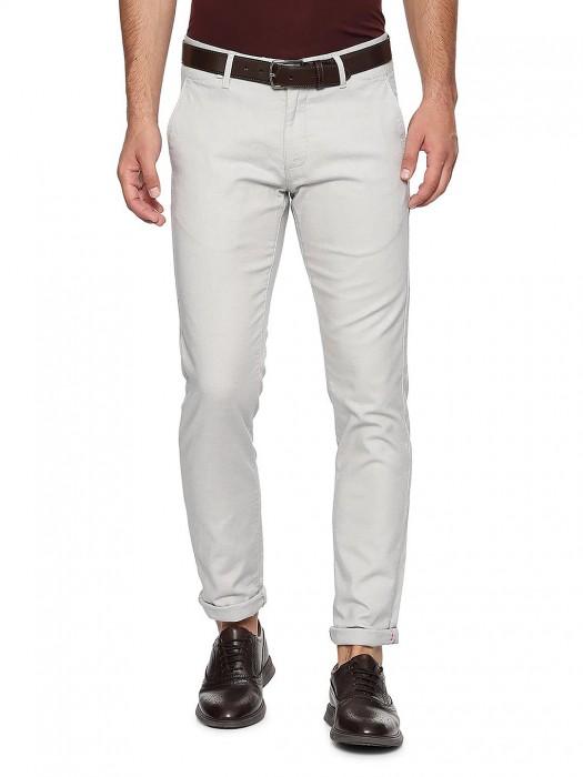 Allen Solly Off White Casual Wear Trouser