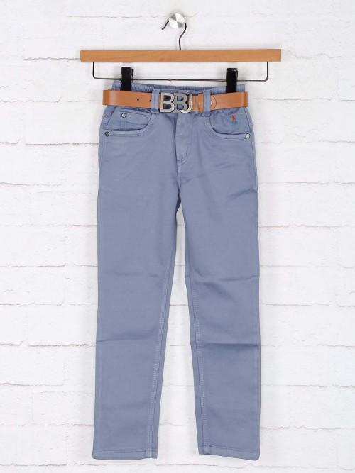 Bad Boys Blue Solid Boys Jeans