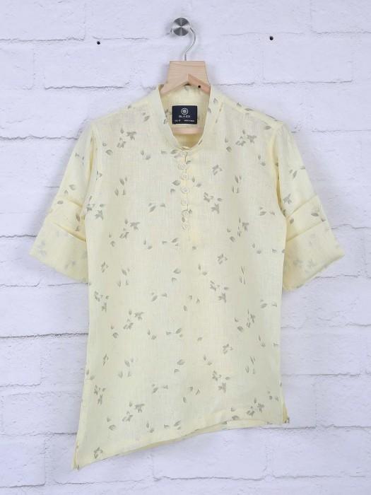 Blazo Lemon Yellow Hue Shirt