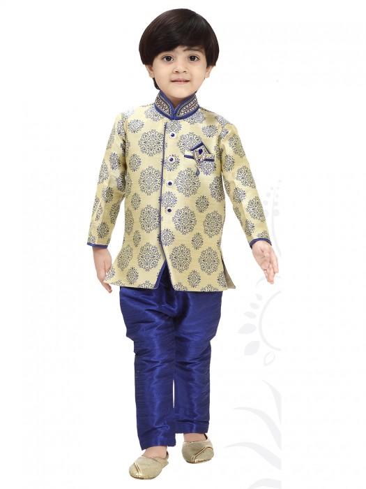 Blue Classy Wedding Wear Indo Western