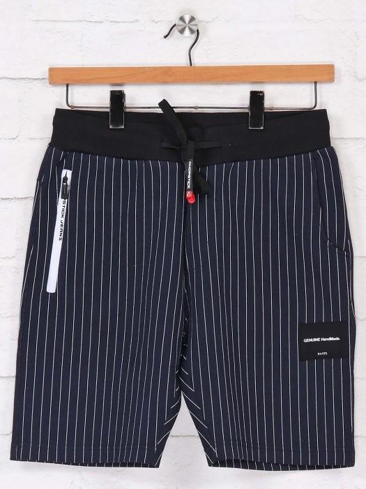 Chopstick Stripe Navy Shorts