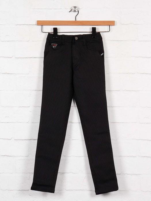 Cityboy Cotton Fabric Navy Stripe Trouser