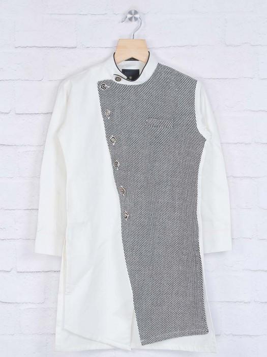 Cotton White Kurta Suit For Festive