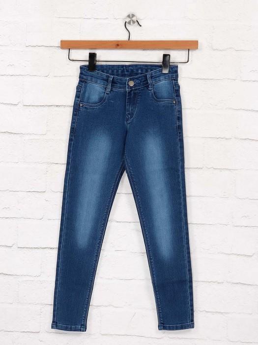 EBONY Blue Hue Denim Skinny Fit Jeans
