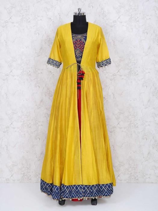 Exclusive Yellow Color Salwar Suit