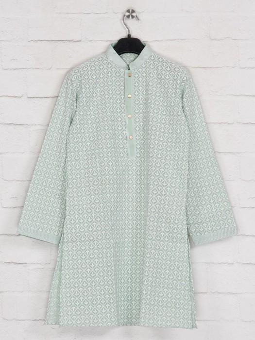 Festive Function Green Georgette Kurta Suit