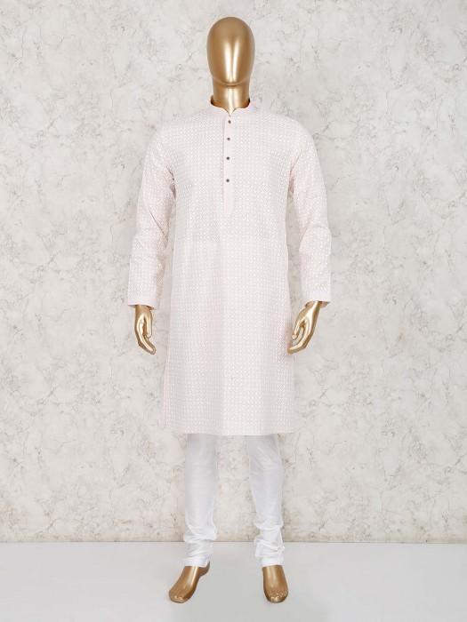 Festive Wear Cotton Festive Kurta Suit