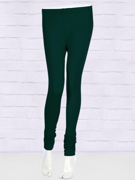 FFU Bottle Green Color Leggings