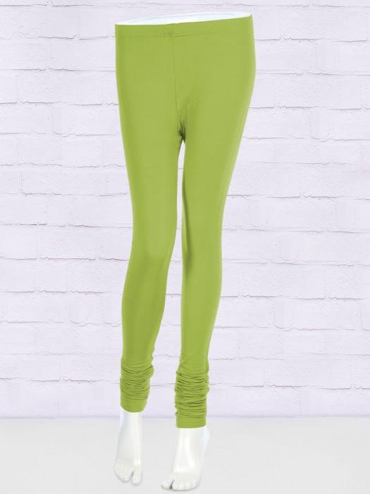 FFU Solid Parrot Green Leggings