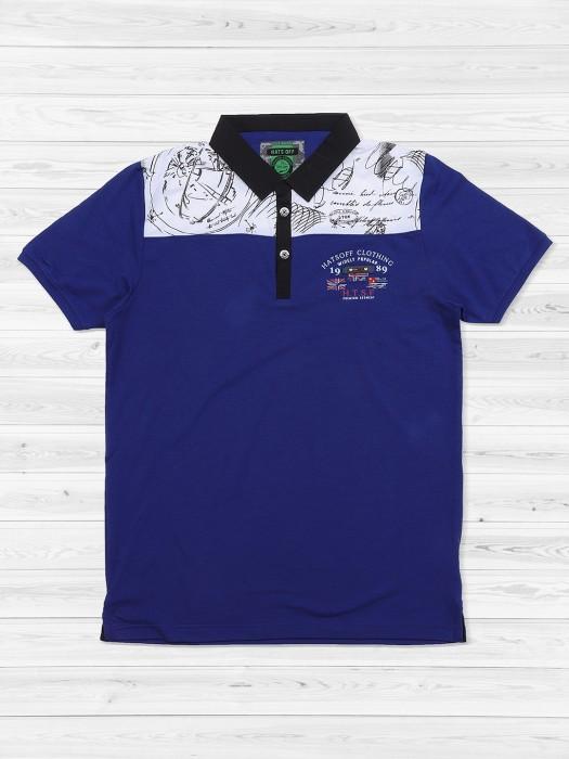 Hats Off Blue Mens T-shirt