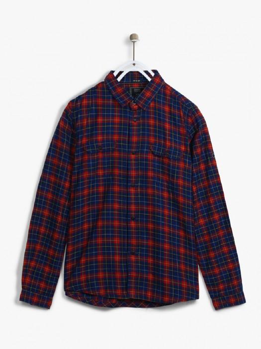 Indian Terrain Navy Cotton Shirt