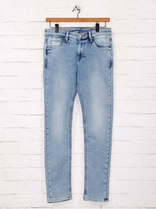 Killer Blue Wshed Skinny Fit Jeans
