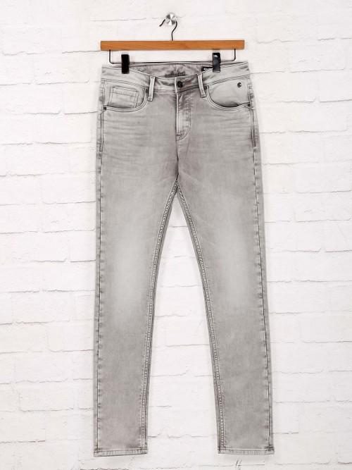 Killer Skinny Fit Grey Washed Jeans