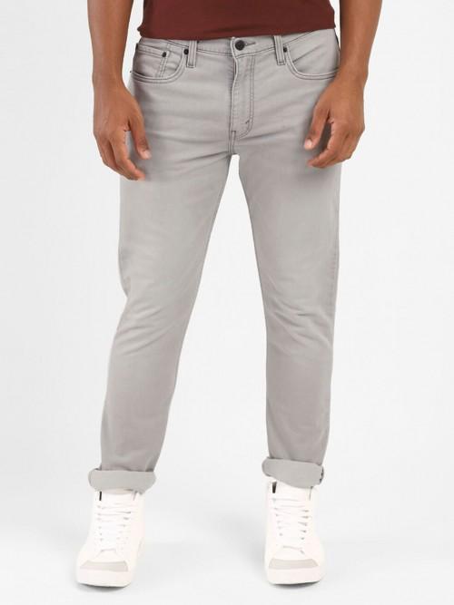 Levis Presented 511 Slim Taper Solid Grey Jeans